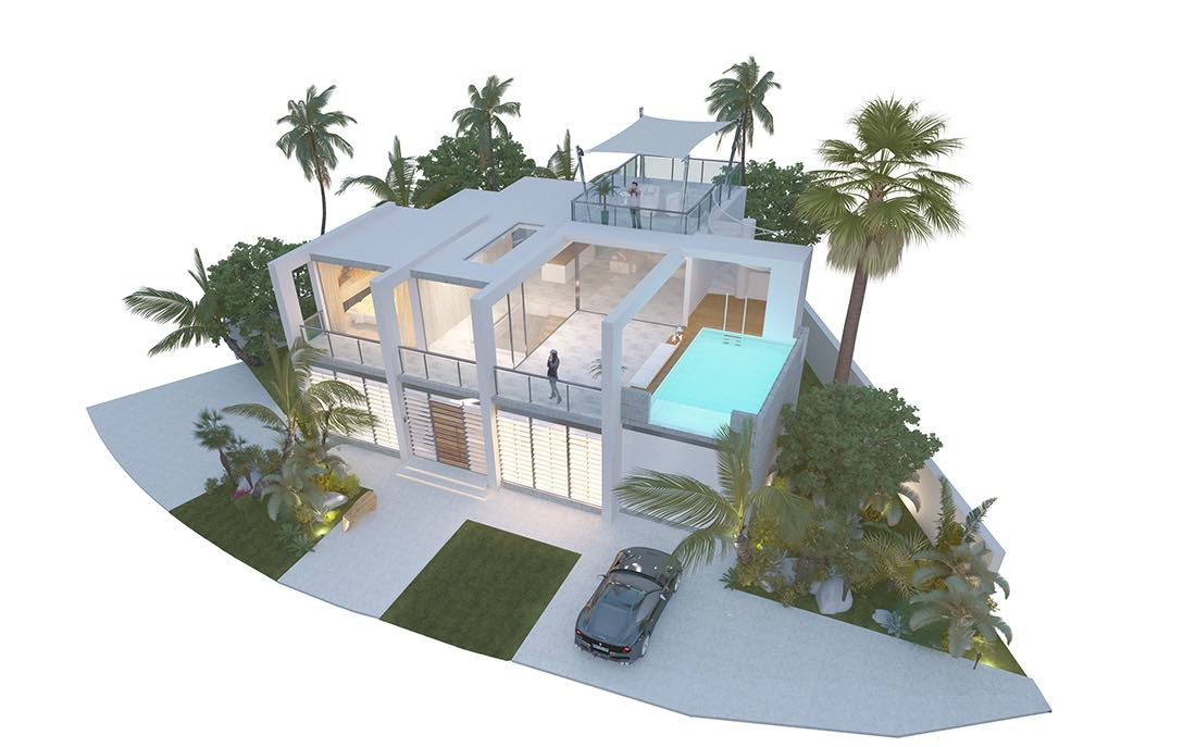 Villa in venetian island miami interiordesignmarbella for Bella villa interior design